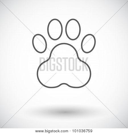 Paw icon