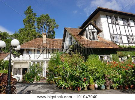 British Old House In Malaysia