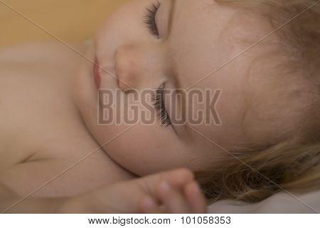 Baby In Bedtime