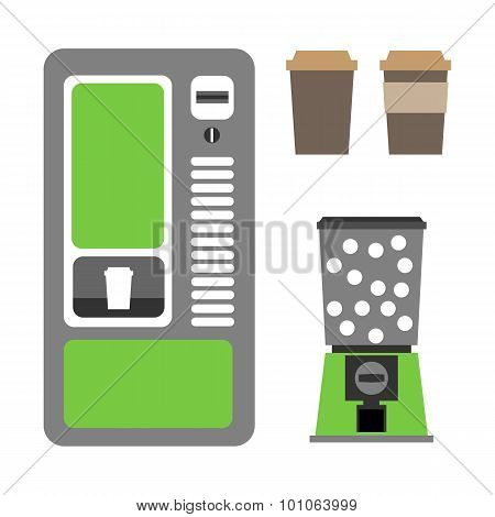 Coffee vending machines coffee and mechanical