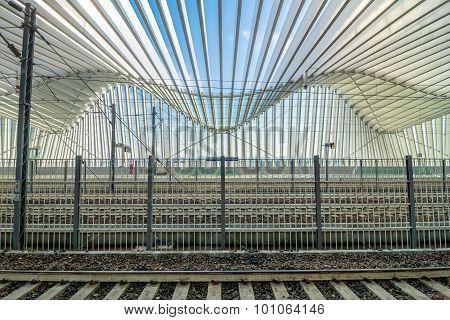 High Speed Train Station In Reggio Emilia, Italy