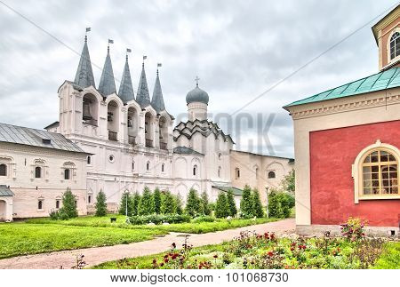 Tikhvin. Russia. The Tikhvin Assumption Monastery