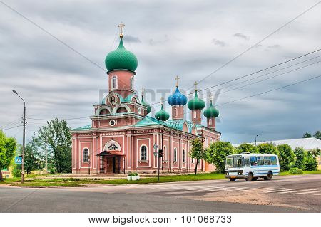 Tikhvin. Russia. Transfiguration Cathedral