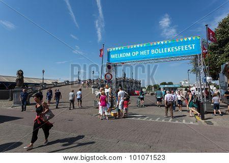 Bollekesfeest Festival In Antwerp, Belgium