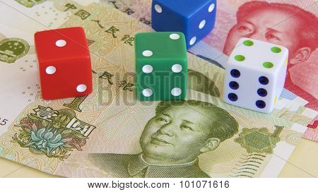 Chinese Renmindi and Dice
