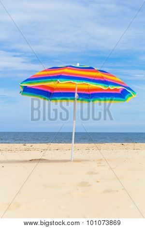 Colorful Sunshade Sunny Beach