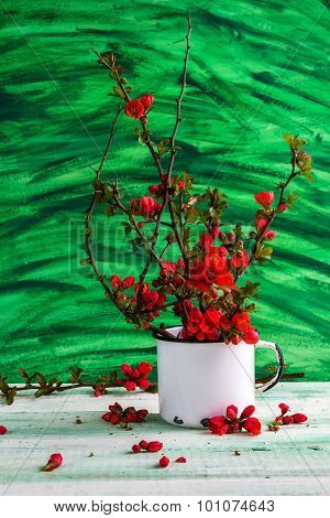 Still Life Bouquet Barberry