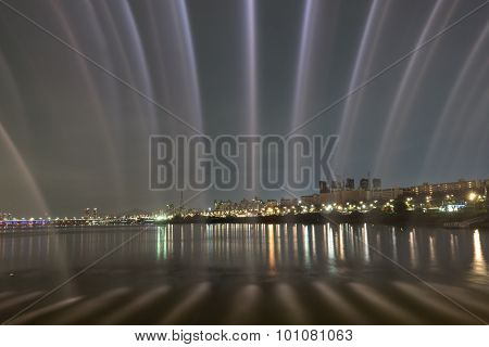 Banpo Bridge Rainbow Fountain