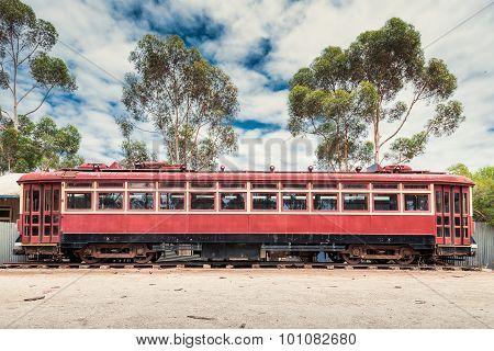 Old Rusty Tram