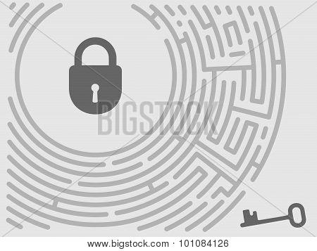 Vector Concept Maze