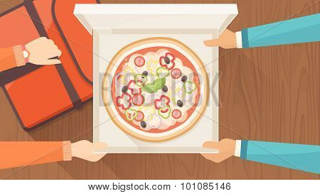 Pizza Delivery At Home