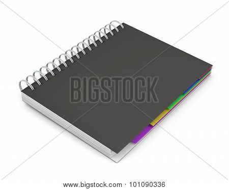 Diary With A Black Cover