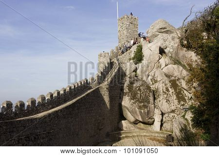 Beautiful View Of Moorish Castle