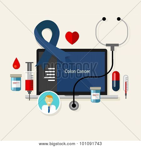 colon cancer treatment chemotherapy medicine medical diagnosis