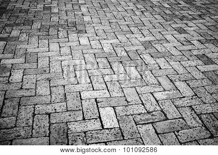 Old Gray Cobblestone, Background Photo Texture