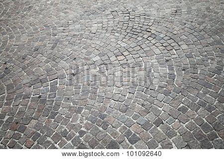 Gray Cobblestone Road Pavement, Photo Texture