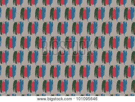 Autumn shape pattern on the grey background