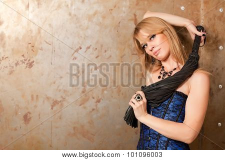 Woman And Whip