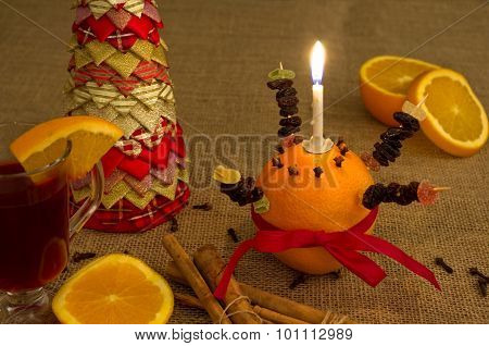 Christingle Table Display