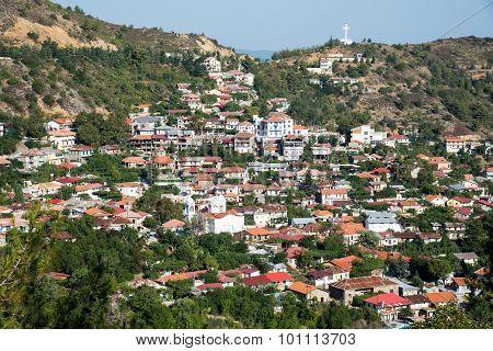 Mountain Village Of Pedoulas, Cyprus