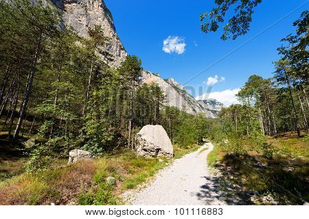 Trail In Sarca Valley - Trentino Italy