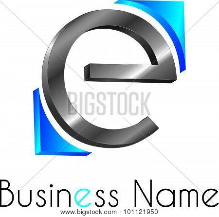 Letter Logo E
