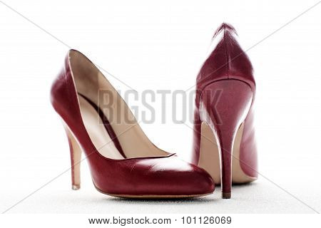 Red High Heels, Symbolic Photo For Fashion, Elegance And Eroticism