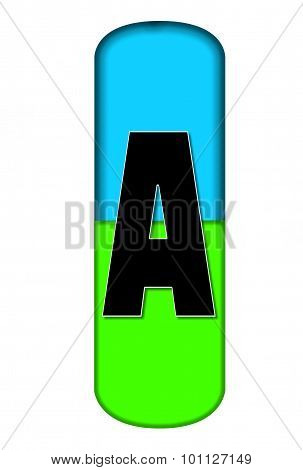 Alphabet Capsule A