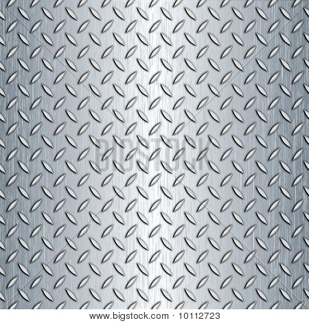 Seamless Diamond Plate Texture