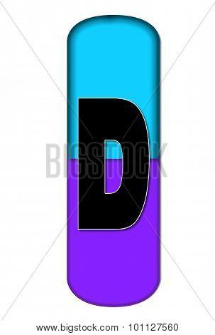 Alphabet Capsule D