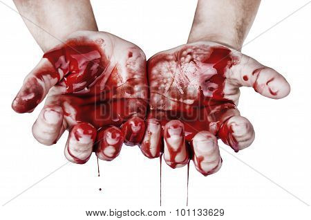 Hands In Blood