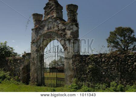 Ancient Greek Church (Monastery) - Main Entrance