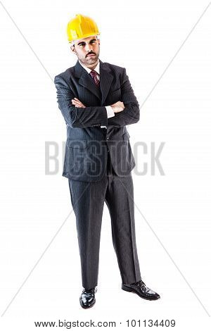 Hard Hat Businessman