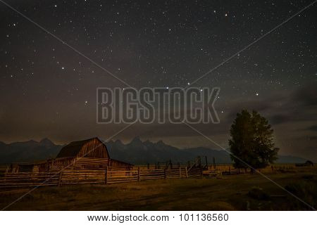 The Moulton Barn in The Grand Teton National Park