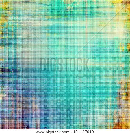 Designed grunge texture or retro background. With different color patterns: yellow (beige); purple (violet); blue; green