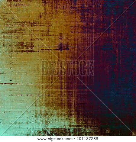 Abstract textured background designed in grunge style. With different color patterns: yellow (beige); brown; purple (violet); blue