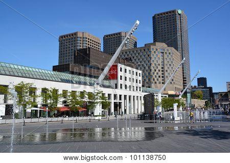 Montreal contempory art museum