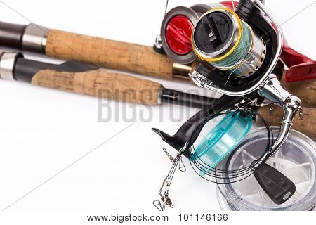 Fishing Tackles Rods, Reels, Line, Lures