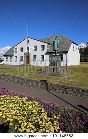 Prime Minister's Office in Reykjavik. Iceland