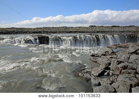 Selfoss Waterfall. Iceland