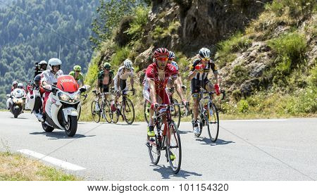The Cyclist Julien Simon - Tour De France 2015