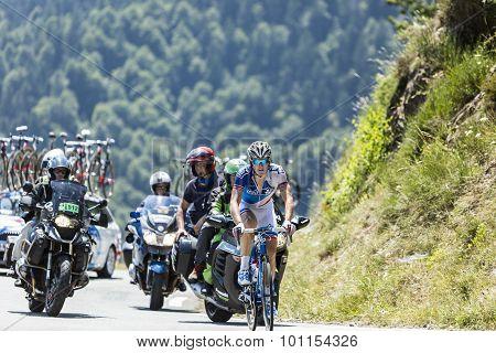 The Cyclist Arnaud Demare - Tour De France 2015