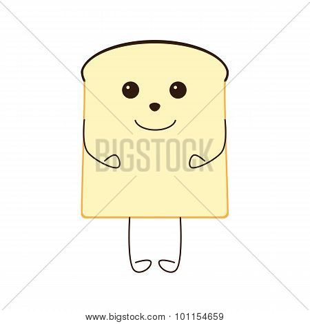 Funny Piece Of Bread