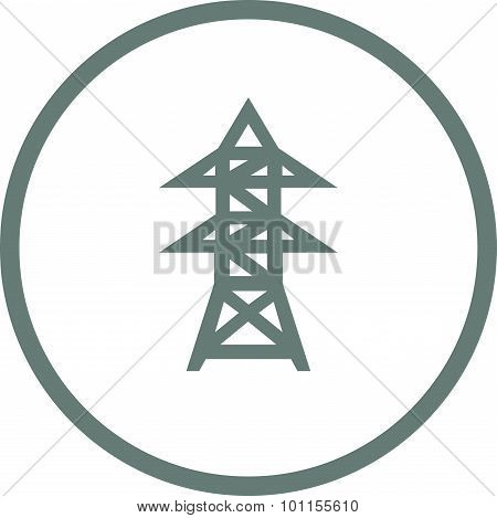 Energy Utility Icon - Stock Illustration