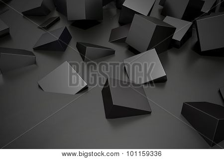 Buried Cubes