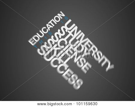 EDUCATION. Word business collage. EDUCATION. Word business collage