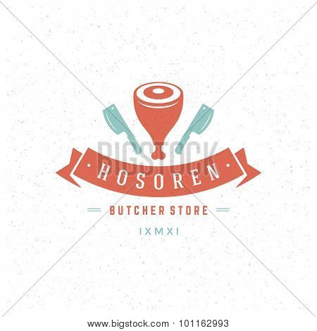 Butcher Shop Design Element