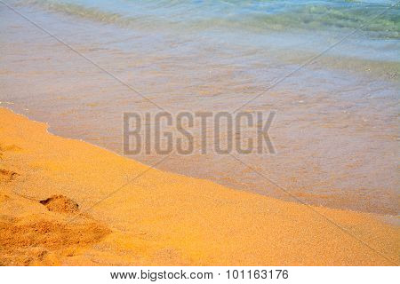 Golden Sand In Porto Ferro