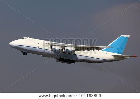 Huge cargo plane