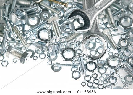 Wrenches on nuts and bolts